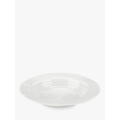 Buy Sophie Conran for Portmeirion Soup Plate, White, Dia.25cm Online at johnlewis.com