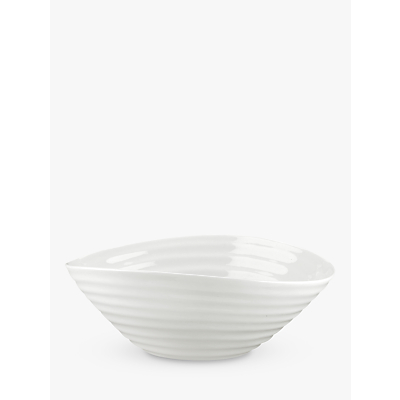 Image of Sophie Conran for Portmeirion Cereal Bowl, White, 18.5cm