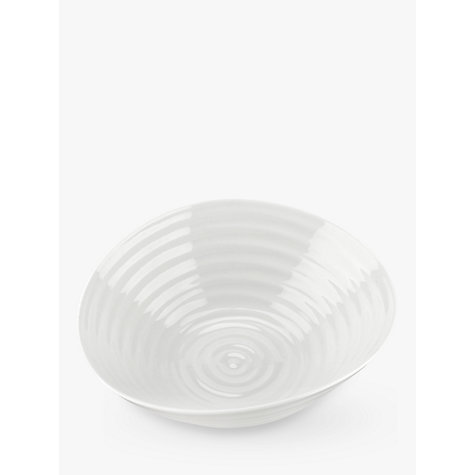 Buy Sophie Conran for Portmeirion Cereal Bowl, White, 18.5cm Online at johnlewis.com