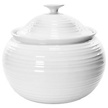 Buy Sophie Conran for Portmeirion Large Casserole, White, 4.8L Online at johnlewis.com