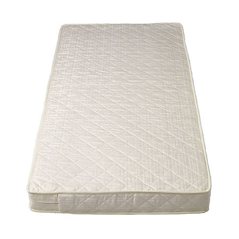 Buy John Lewis Spring Large Cot Mattress, L127 x W63cm Online at johnlewis.com