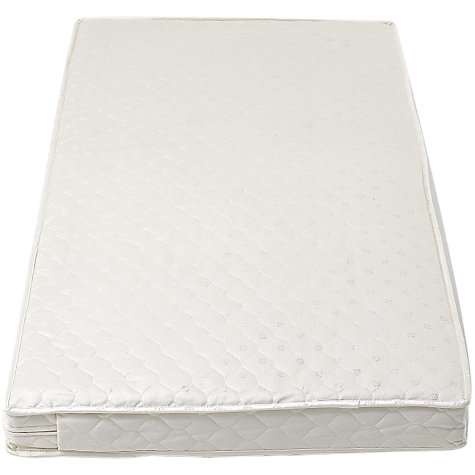 Buy John Lewis Coir Spring Cot Mattress, L120 x W60cm Online at johnlewis.com