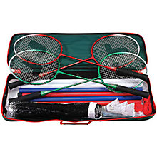 Buy Jaques 4 Player Pro Deluxe Badminton Set Online at johnlewis.com