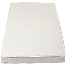 Buy John Lewis Coir Spring Cotbed Mattress, L140 x W70cm Online at johnlewis.com