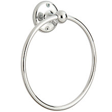 Buy Samuel Heath Curzon Towel Ring Online at johnlewis.com