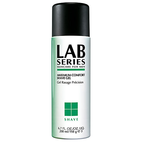 Buy Lab Series Shave, Maximum Comfort Shave Gel, 200ml Online at johnlewis.com