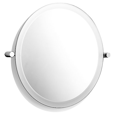 Buy Samuel Heath Xenon Round Mirror, Large Online at johnlewis.com