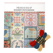 Buy Primavera Tapestry Cushion Kit, Shaker Patchwork Online at johnlewis.com