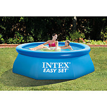 Buy Intex Easy Set Pool, 8ft Online at johnlewis.com