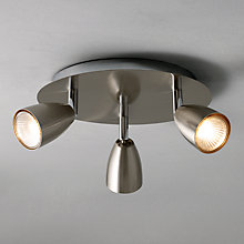 Buy John Lewis Thea 3 Spotlight Ceiling Plate Online at johnlewis.com