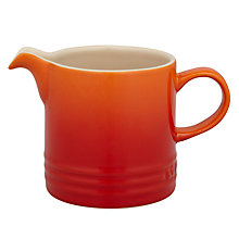 Buy Le Creuset Stoneware Milk Jug, 0.35L Online at johnlewis.com