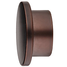 Buy John Lewis Bronze Disc End Finial, Dia.25mm Online at johnlewis.com