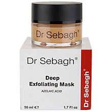 Buy Dr Sebagh Deep Exfoliating Mask, 50ml Online at johnlewis.com
