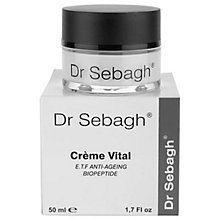 Buy Dr Sebagh Creme Vital, 50ml Online at johnlewis.com