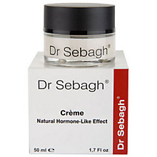 Buy Dr Sebagh Creme Natural Hormone-Like Effect, 50ml Online at johnlewis.com