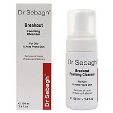 Buy Dr Sebagh Breakout Foaming Cleanser, 100ml Online at johnlewis.com