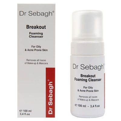 Breakout Foaming Cleanser, 100ml
