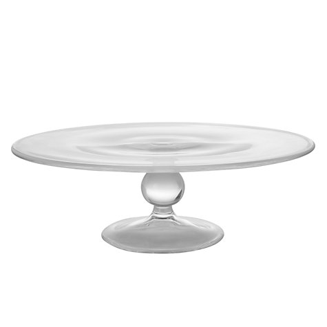 Buy John Lewis Glass Gourmet Cake Stand Online at johnlewis.com