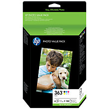 Buy HP 363 Series Photo Multipack, AQ7966EE Online at johnlewis.com