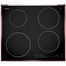 Buy John Lewis JLBIIH603 Ceramic Induction Hob, Black Online at johnlewis.com