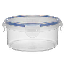 Buy Lock & Lock Round Storage Container, 600ml Online at johnlewis.com