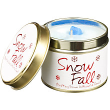 Buy Lily-Flame Snowfall Candle in a Tin Online at johnlewis.com