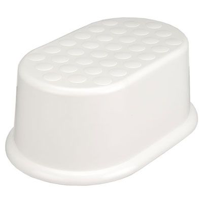 The Basics Step Stool, White 230399975