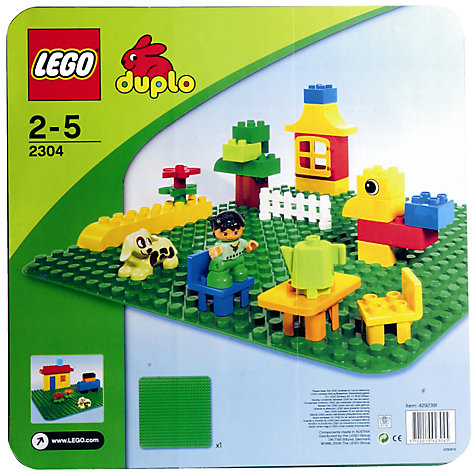 Buy LEGO DUPLO Building Plate Online at johnlewis.com