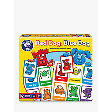 Buy Orchard Toys Red Dog Blue Dog Colour Match Game Online at johnlewis.com