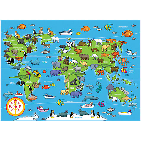 Buy Animals of the World Jigsaw Puzzle, 60 Pieces Online at johnlewis.com