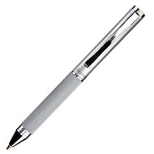 Buy Filofax Mini Barley Pen, Silver Online at johnlewis.com