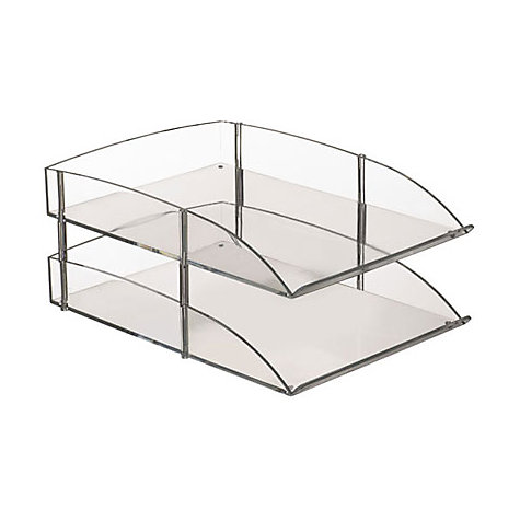 Buy Acrylic Double Tray Online at johnlewis.com