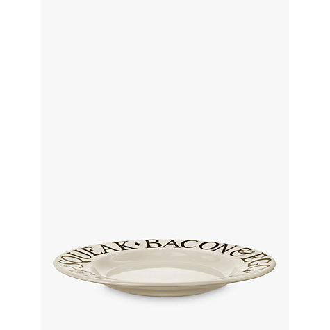 Buy Emma Bridgewater Black Toast Plates, Natural Online at johnlewis.com