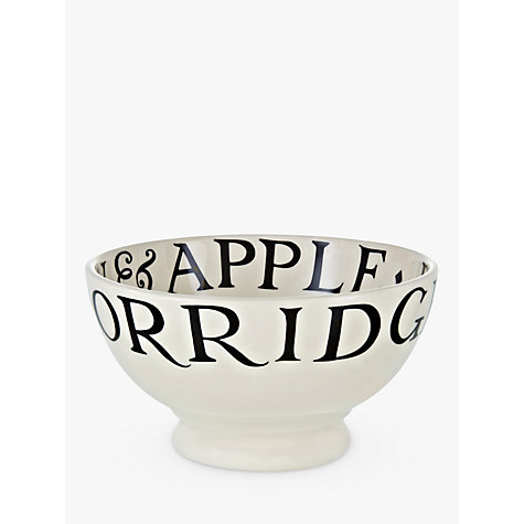 Buy Emma Bridgewater Black Toast French Bowl, Natural, Dia.13.5cm Online at johnlewis.com