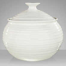 Buy Sophie Conran for Portmeirion Medium Casserole, White, 2.5L Online at johnlewis.com