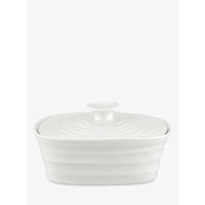 Image of Sophie Conran for Portmeirion Butter Dish, White