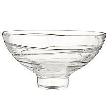 Buy Waterford Crystal Jasper Conran Aura Footed Bowl Online at johnlewis.com