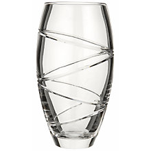 Buy Waterford Crystal Jasper Conran Aura Barrel Vase Online at johnlewis.com