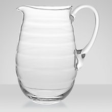 Buy Portmeirion Sophie Conran Glass Jug, Large Online at johnlewis.com
