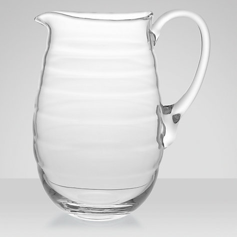 Buy Sophie Conran for Portmeirion Glass Jug, Large Online at johnlewis.com