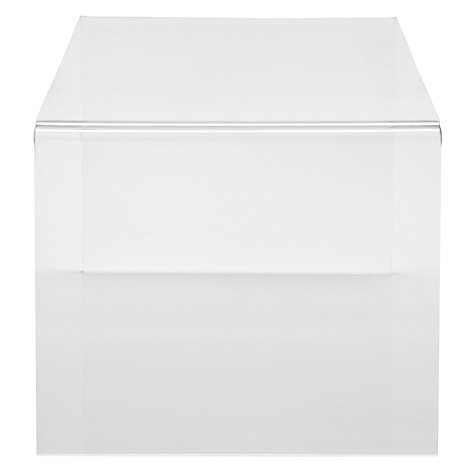 Buy John Lewis Ice Coffee Table, Clear Online at johnlewis.com