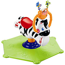 Buy Fisher Price Bounce and Spin Zebra Online at johnlewis.com