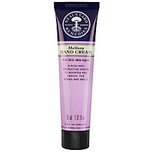 Buy Neal's Yard Organic Melissa Hand Cream, 30g Online at johnlewis.com