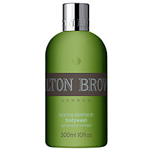 Buy Molton Brown Bracing Silver Birch Body Wash for Men, 300ml Online at johnlewis.com