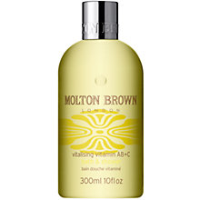 Buy Molton Brown Vitalising Vitamin AB+C Bath & Shower, 300ml Online at johnlewis.com