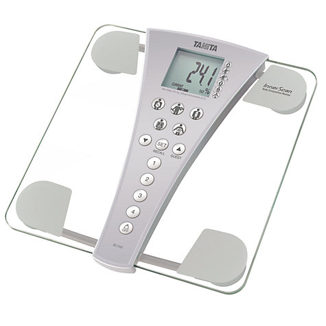 Buy Tanita Family Health BC543 Innerscan Body Composition Monitor, Glass, Clear Online at johnlewis.com