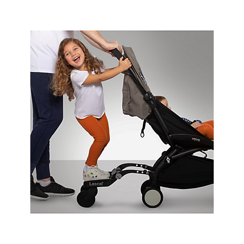Buy Lascal Maxi Buggyboard, Black Online at johnlewis.com