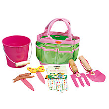 Buy Childrens' Garden Tool Kit, Pink Online at johnlewis.com