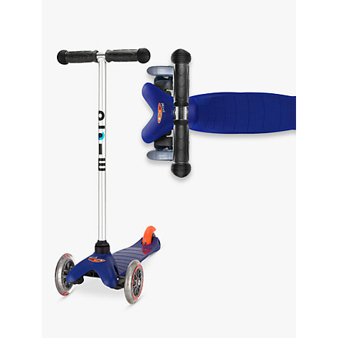 Buy Mini Micro T-Bar Scooter, Blue Online at johnlewis.com