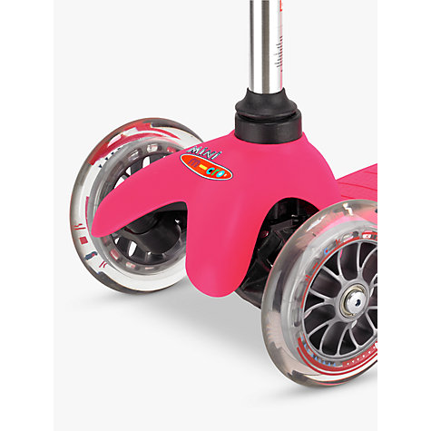 Buy Mini Micro T-Bar Scooter, Pink Online at johnlewis.com